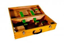 Nikon Wooden Carrying Case for 6D/6B Autocollimator