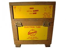 Eimac X2159 8974 World's Most Powerful Radio Tube Crate